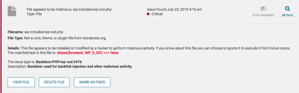 Delete malware
